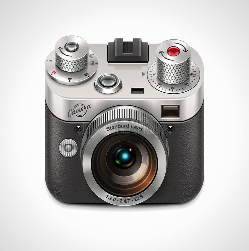 Free Vector Retro Camera XXL Icon Royalty Free Stock Photo - 19768415