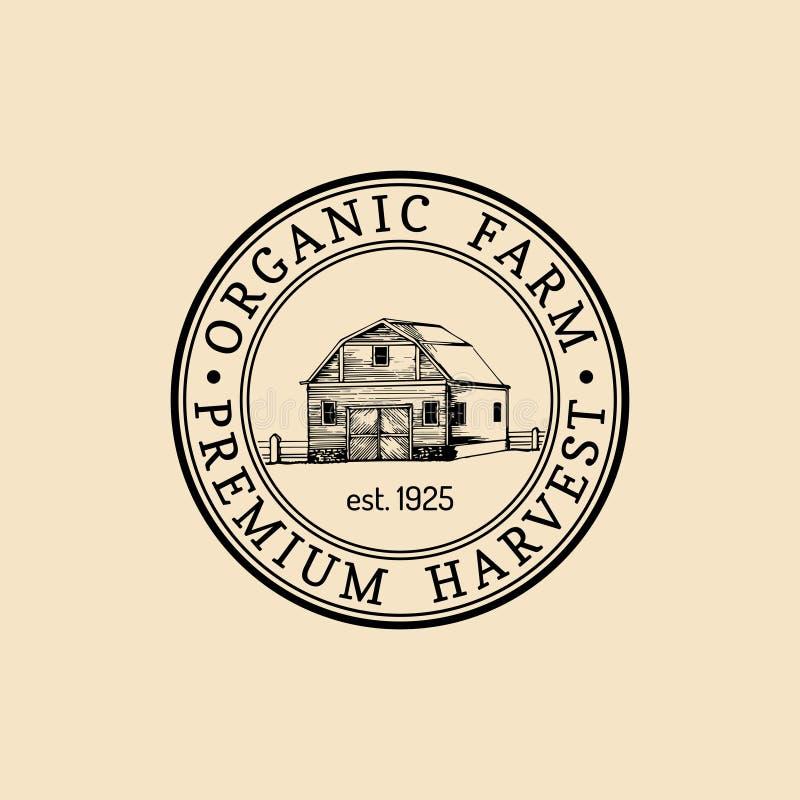 Vector Farm Fresh Logotype. Organic Premium Quality
