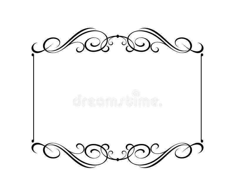 Vector retro frames .Vector illustration.Black white. vector illustration