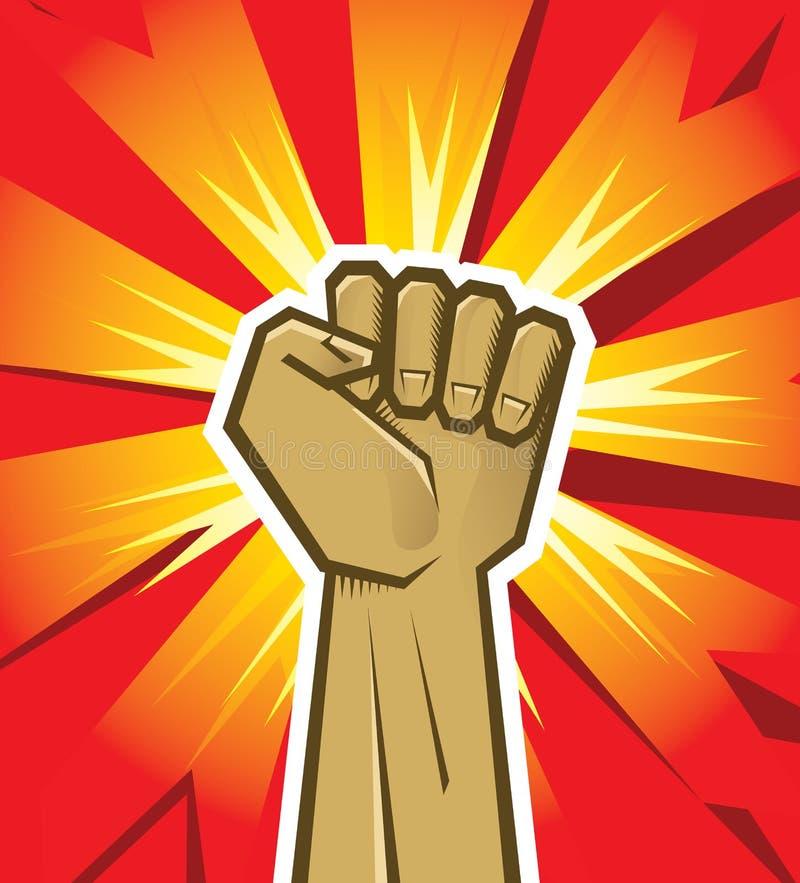 Vector Revolution Hand Stock Vector. Illustration Of