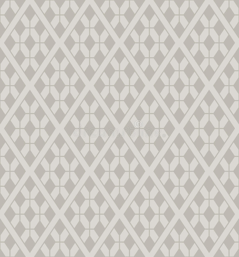 Download Vector Rhombuses Lattice Seamless Pattern Royalty Free Stock Image - Image: 23953146