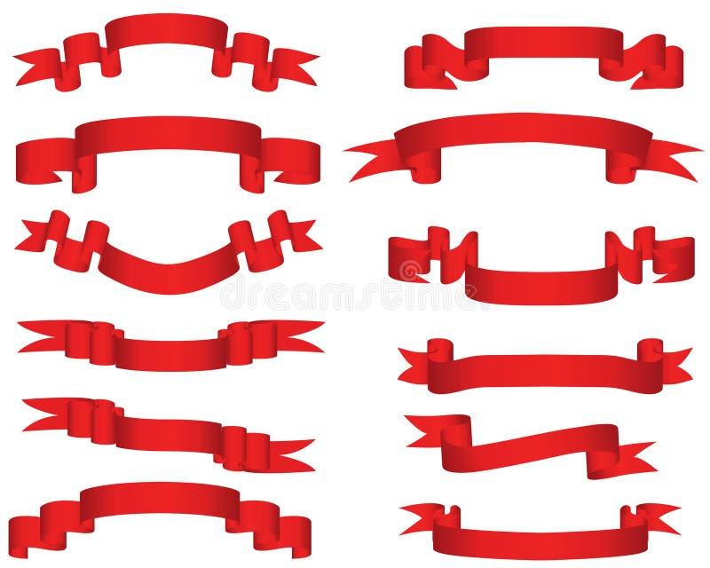Vector Ribbons Royalty Free Stock Photography