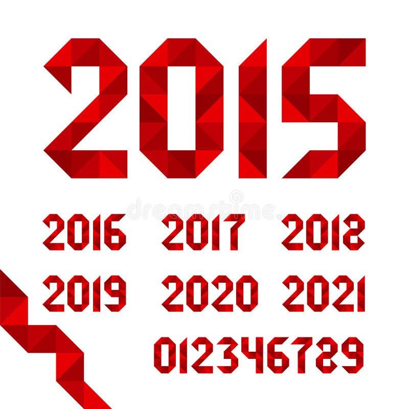 Vector ribbons dates for calendars vector illustration