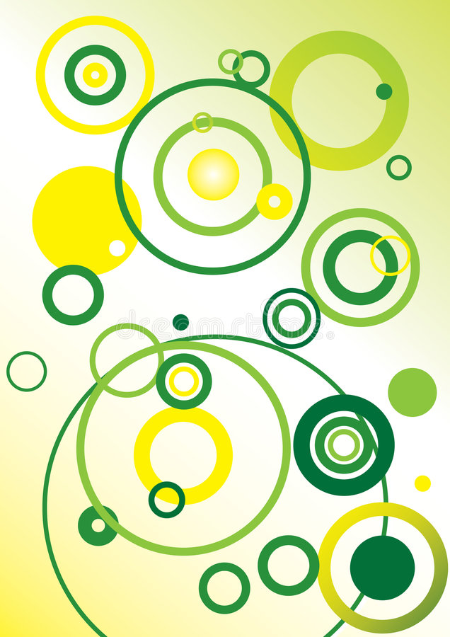 Vector ringsachtergrond vector illustratie