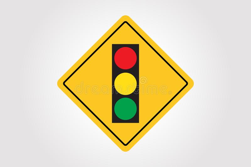 Vector Road Sign, Traffic Illustration Design. Vector Road Sign, Traffic Illustration Isolated Design, Symbol EPS 10 stock illustration
