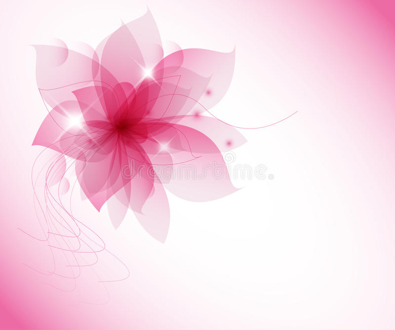 Vector rose flower stock illustration