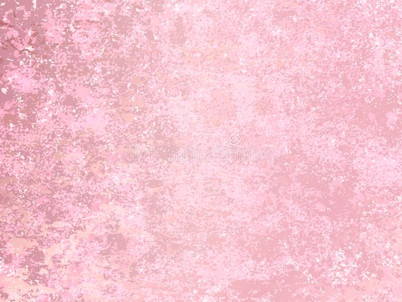 Vector rose gold marble background. Rose Gold metallic texture. vector illustration