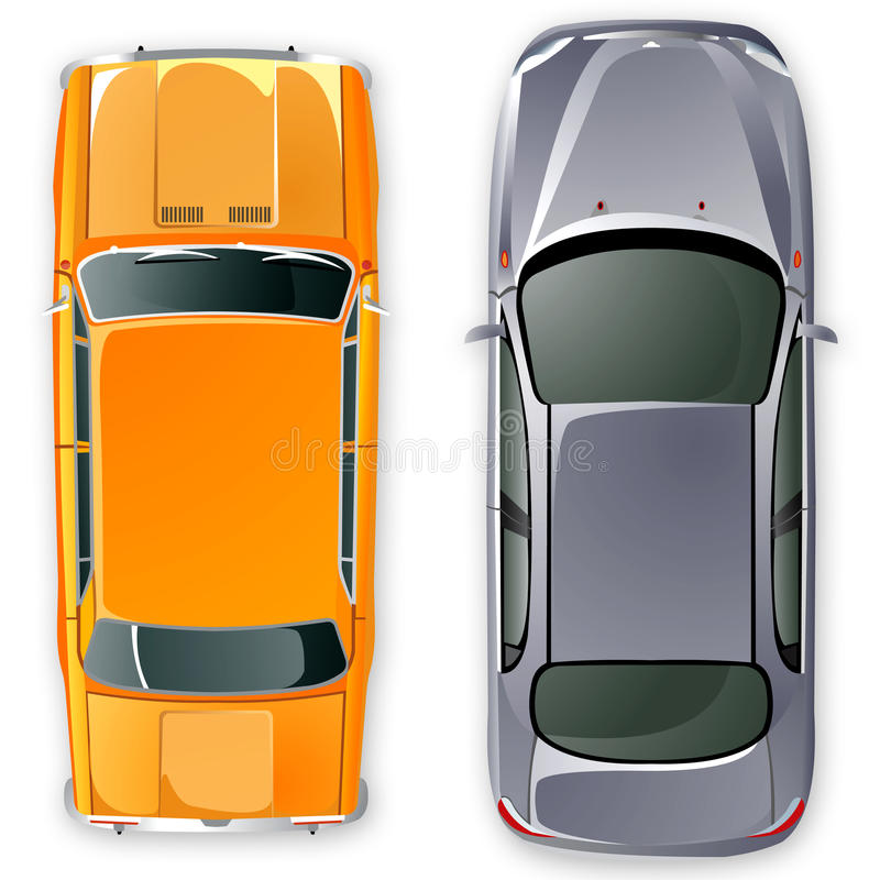 Download Vector russian USSR cars. stock vector. Image of front - 9990533
