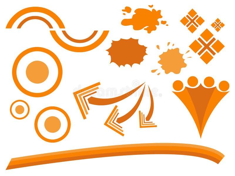 Vector - Samenvatting 13 stock illustratie
