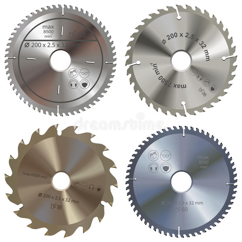 Free Vector Saw Blade Stock Photography - 88443852