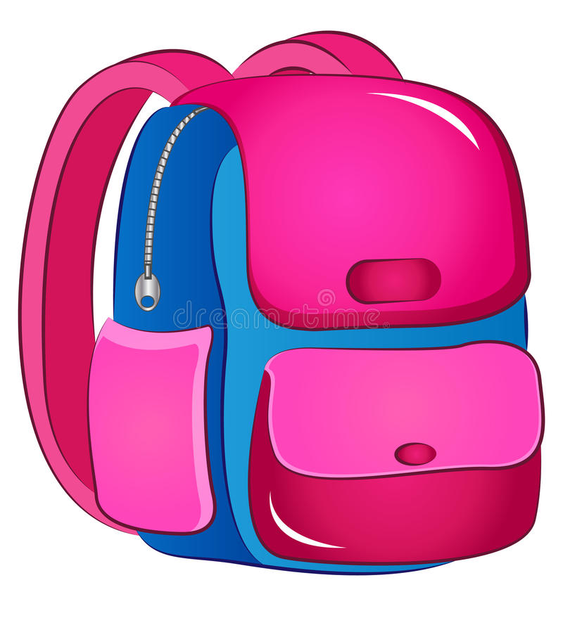 vector school bag stock vector illustration of pink 90669871 rh dreamstime com bug clipart bug clip art black and white