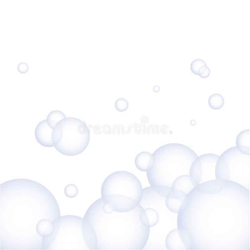 Vector schuim stock illustratie