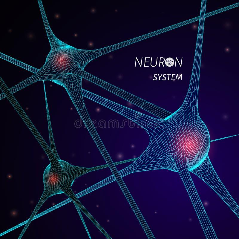 Vector scientific illustration vector illustration