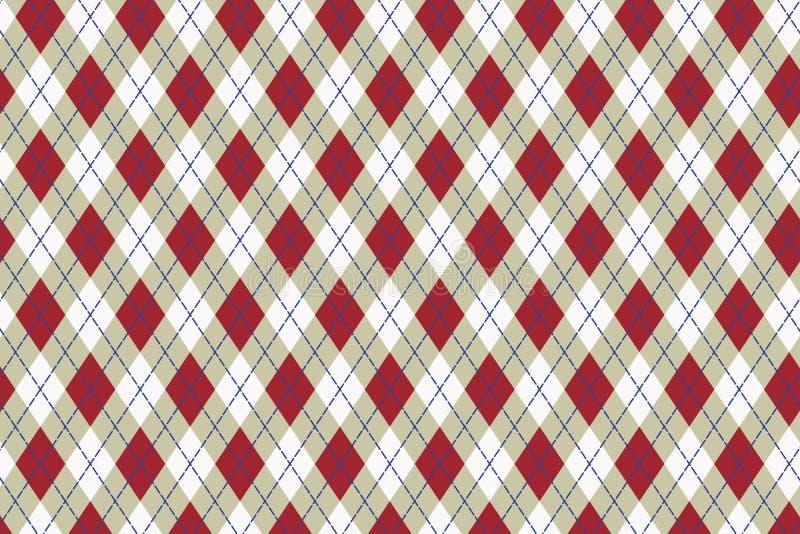 Vector Scottish pattern vector illustration