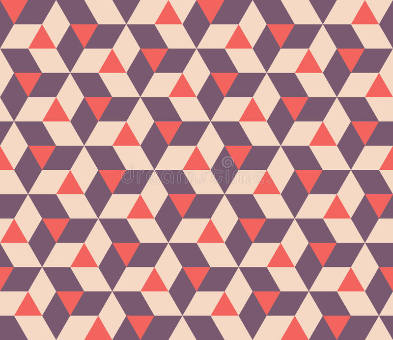 Vector Seamless Abstract Geometric Triangle Rhombus Tiling Shapes ...