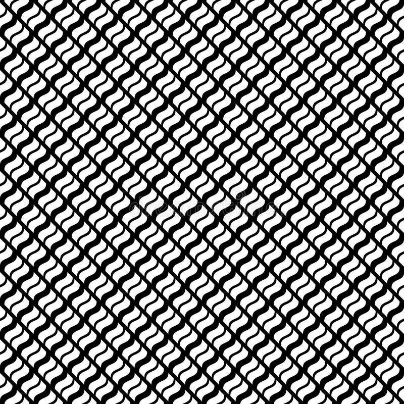 Vector seamless abstract pattern black and white. abstract background wallpaper. vector illustration. vector illustration