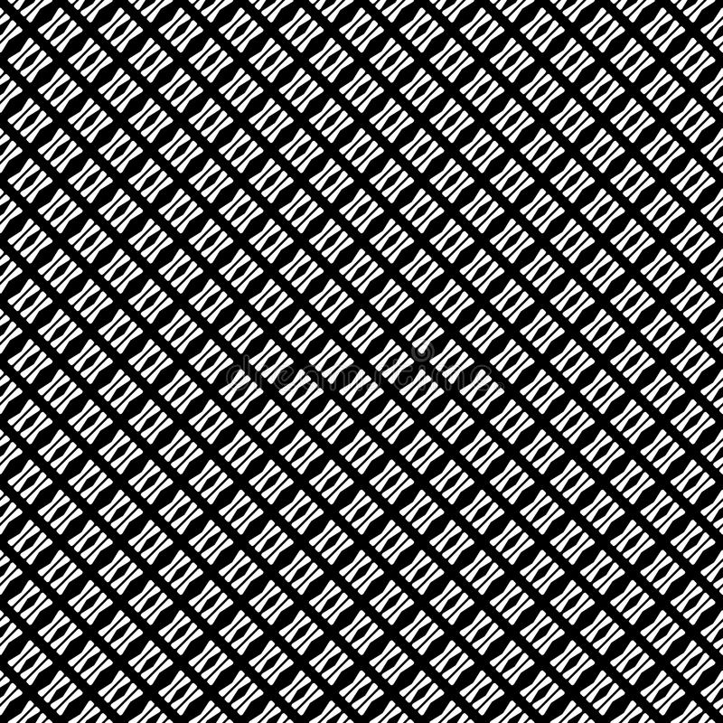 Vector seamless abstract pattern black and white. abstract background wallpaper. vector illustration