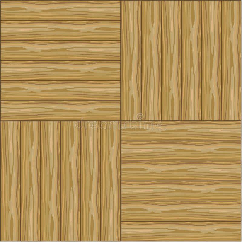 Vector seamless background a wooden parquet