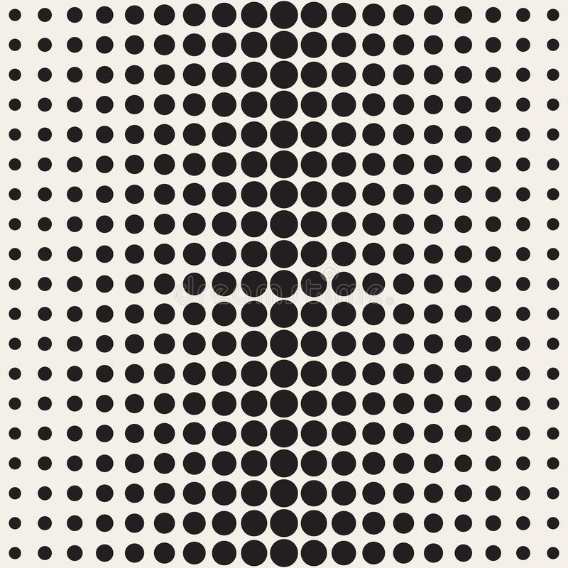 vector seamless black and white circle gradient halftone pattern rh dreamstime com halftone vector download halftone vector texture