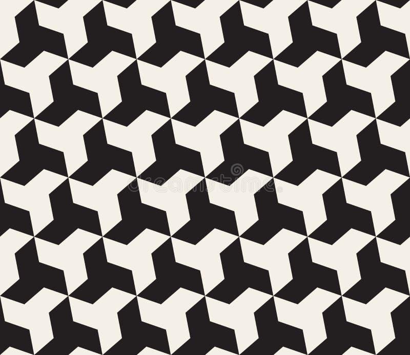 Vector Seamless Black And White Geometric Triangle Shape ...