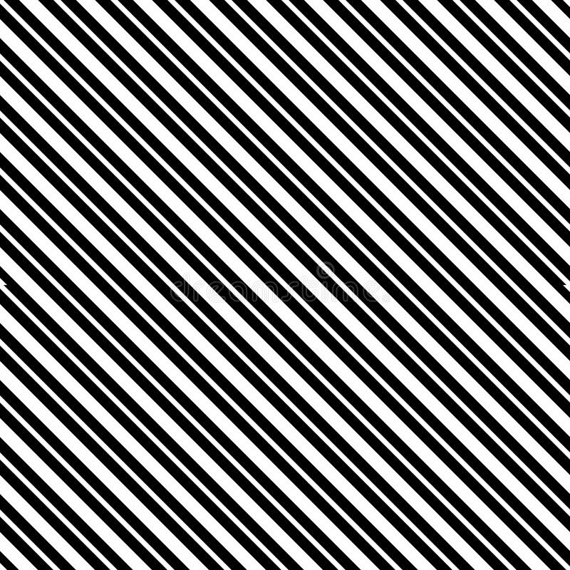 Vector seamless diagonal lines pattern black and white. abstract background wallpaper. vector illustration. royalty free illustration