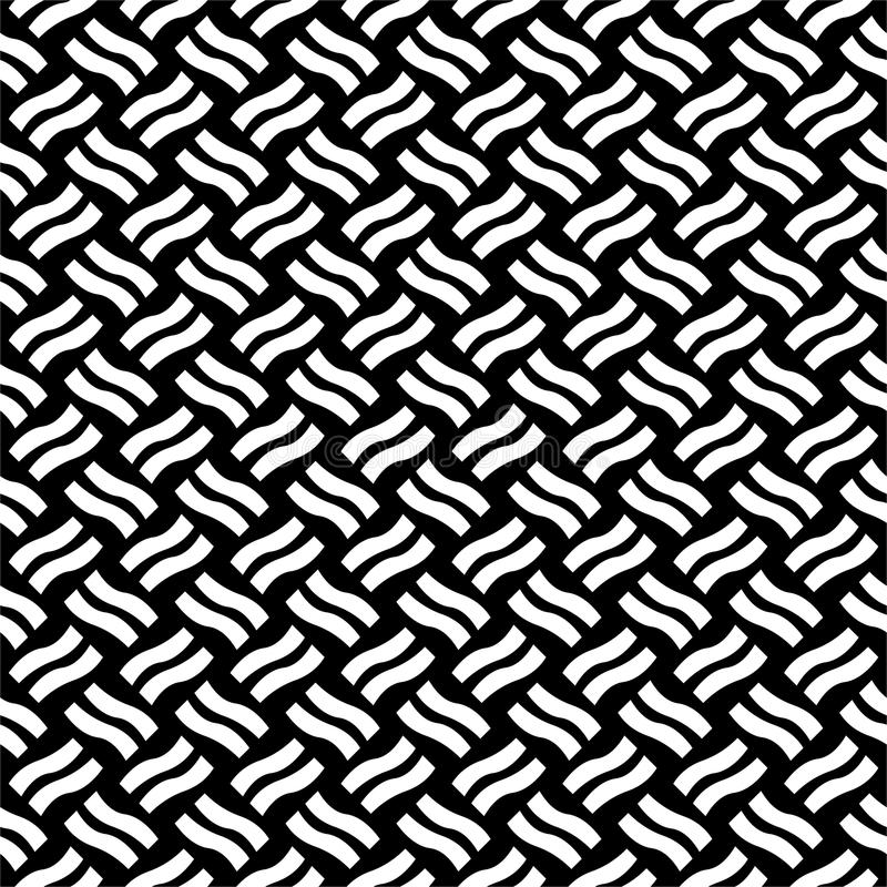 Vector seamless diagonal lines pattern black and white. abstract background wallpaper. vector illustration. Grey, head. royalty free illustration