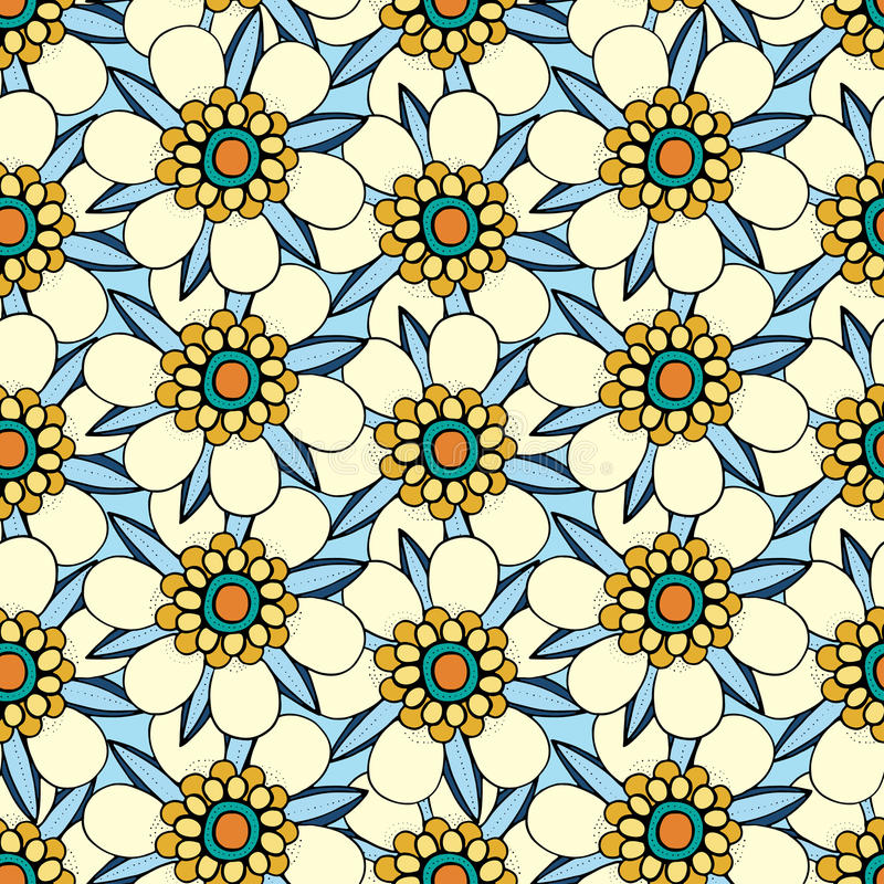 Download Vector Seamless Floral Pattern Stock