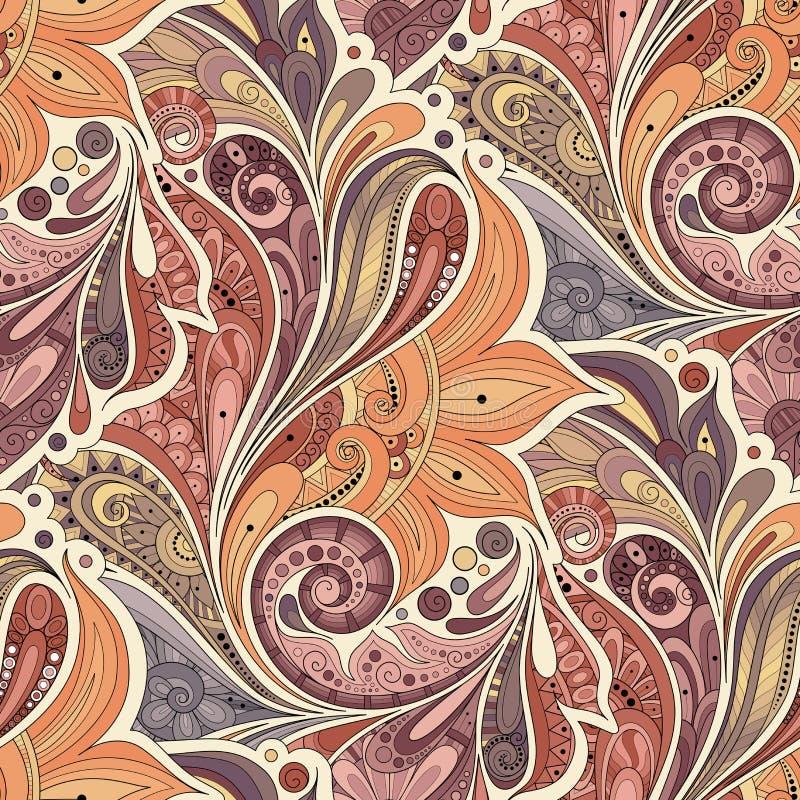 Vector Seamless Floral Pattern vector illustration