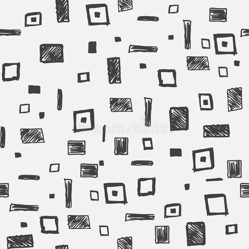 Vector seamless geometric pattern vector illustration