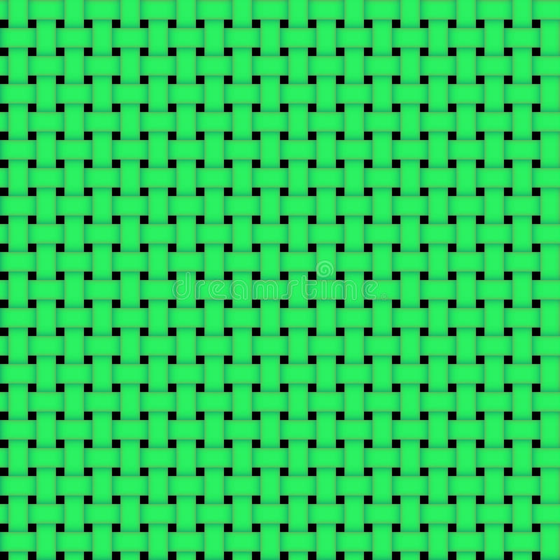 Vector seamless green simple grid pattern royalty free illustration