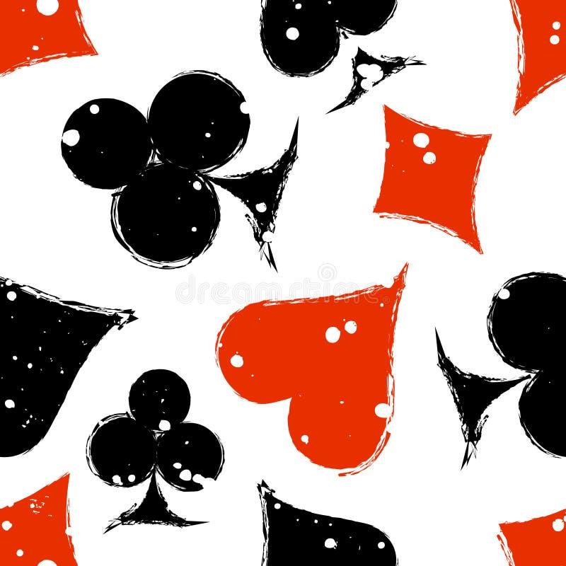Vector seamless grunge pattern stock illustration