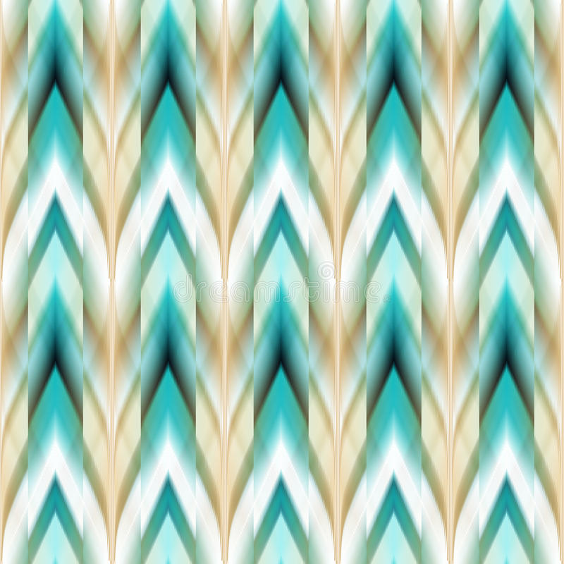 Free Vector Seamless Ikat Ethnic Pattern Royalty Free Stock Photography - 56307247