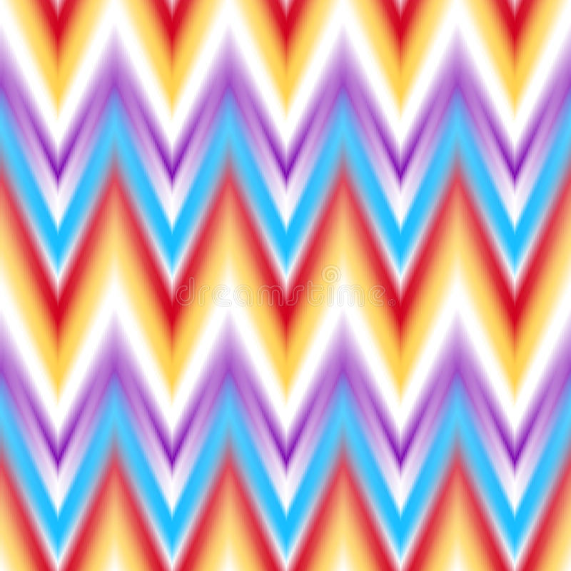 Free Vector Seamless Ikat Ethnic Pattern Stock Photography - 56487242
