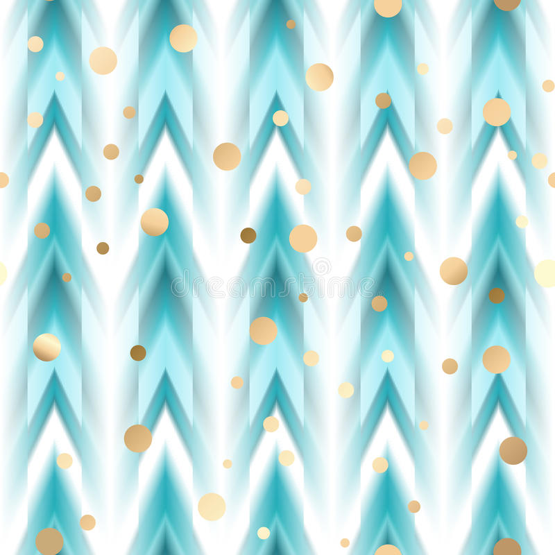 Free Vector Seamless Ikat Ethnic Pattern Royalty Free Stock Images - 86962989