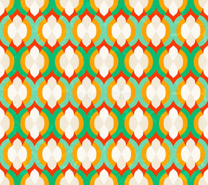 Vector seamless moroccan pattern stock vector image for Moroccan style wallpaper