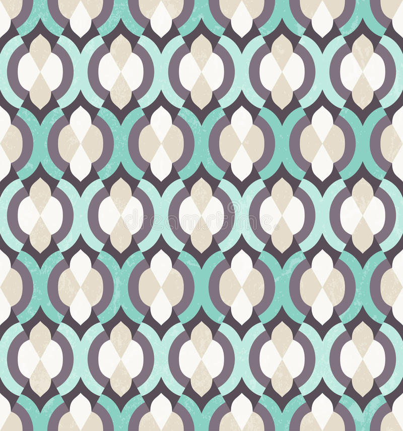 Vector seamless Moroccan pattern. vector illustration