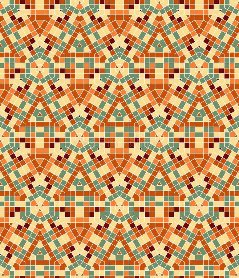 Download Vector Seamless Mosaic Ornaments Stock Vector - Image: 17951770