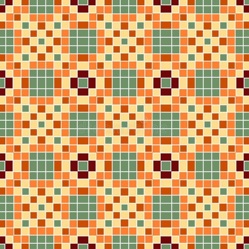 Download Vector Seamless Mosaic Ornaments Stock Vector - Image: 17951809