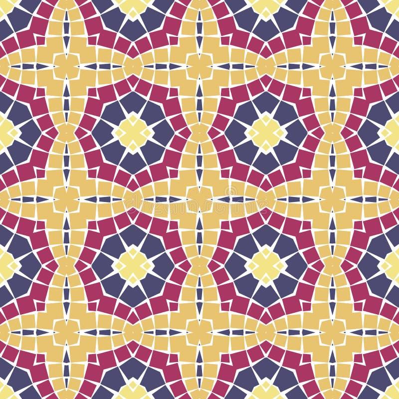 Download Vector Seamless Mosaic Ornaments Stock Vector - Image: 18077657