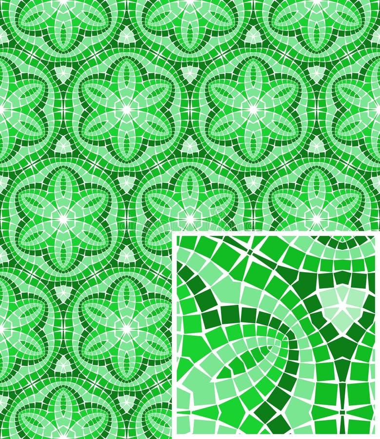 Download Vector Seamless Mosaic Ornaments Stock Vector - Image: 18313095
