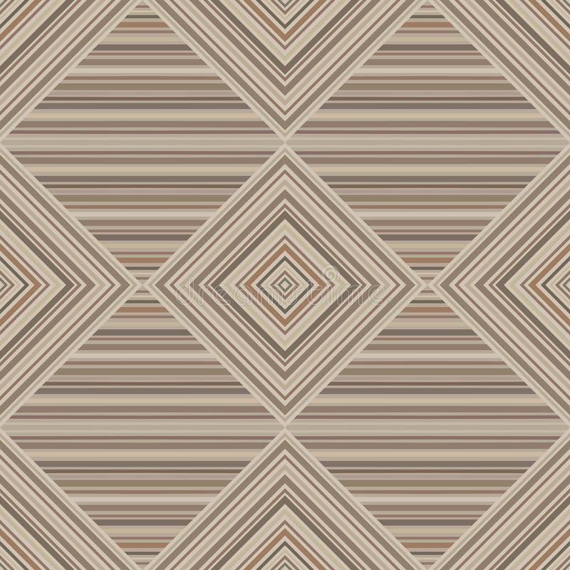 Vector seamless parquet brown background royalty free illustration