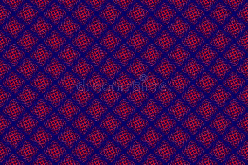Geometric Seamless pattern Vector Design stock illustration