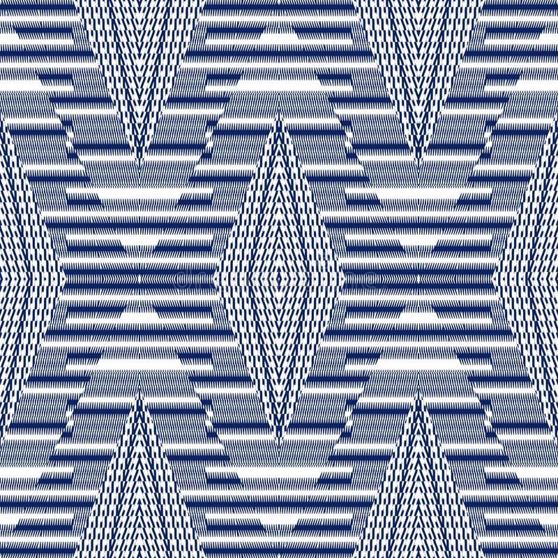 Vector seamless pattern, abstract geometric background illustration royalty free stock image