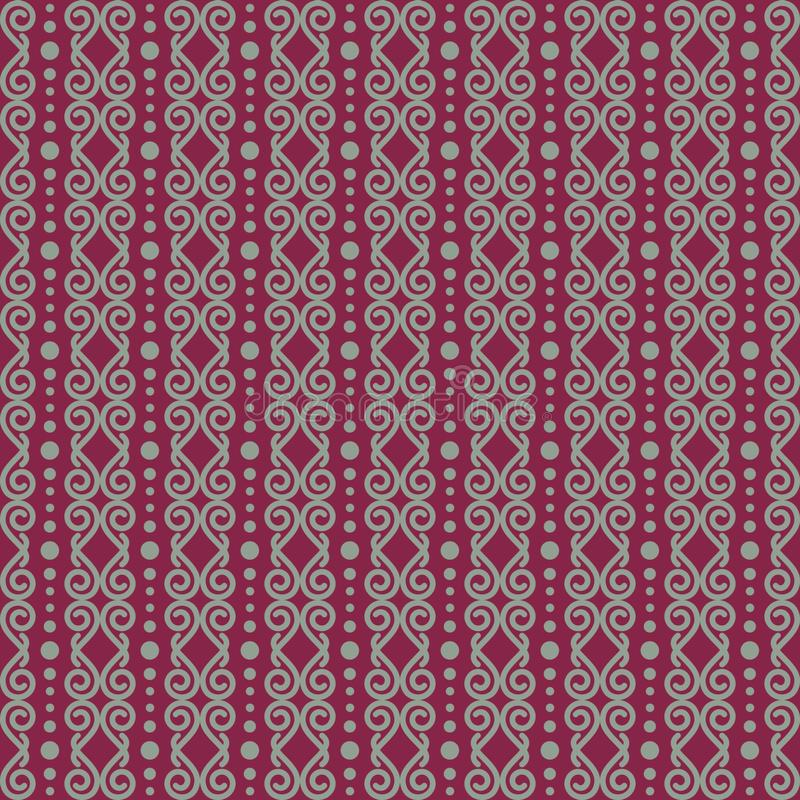Vector seamless pattern of abstract ornamental art, related to ethnic, tribal and culture vector illustration