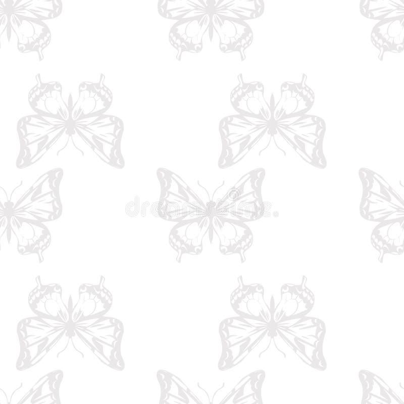 Download Vector Seamless Pattern Of Butterflies Stock Vector - Image: 35717805