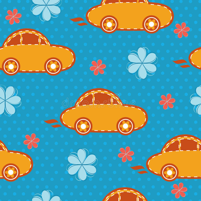 Download Vector Seamless Pattern Of Cars Royalty Free Stock Photo - Image: 25624795
