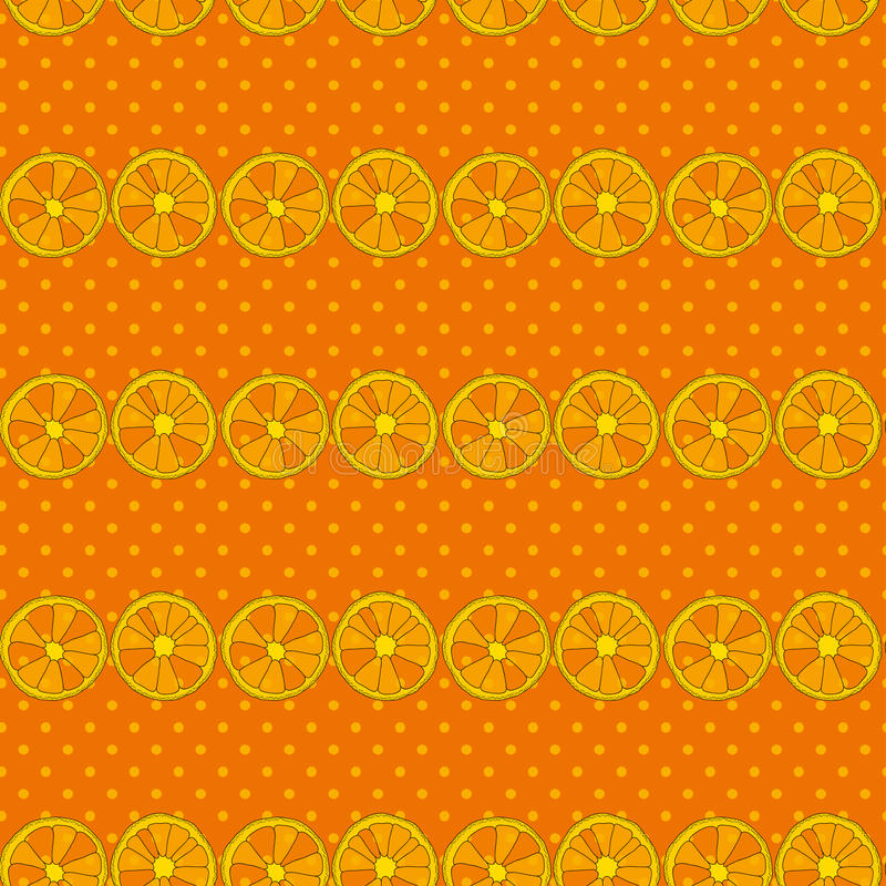 Vector seamless pattern with citrus fruits. Oranges background. Vector seamless pattern with citrus fruits. Oranges colorful background vector illustration