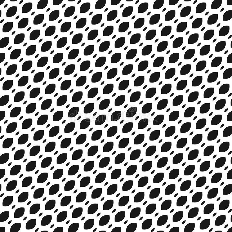 Vector seamless pattern, diagonal mesh texture, lattice, tissue. Vector seamless pattern, simple monochrome black and white geometric texture, illustration of vector illustration