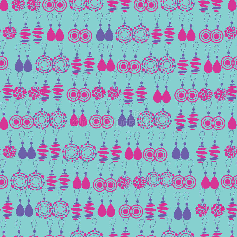 Download Vector Seamless Pattern Of Fashion Jewelry Stock Vector - Illustration: 19799910