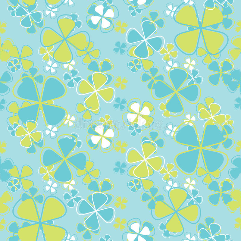 Download Vector Seamless Pattern Flowers Stock Vector - Image: 37118458